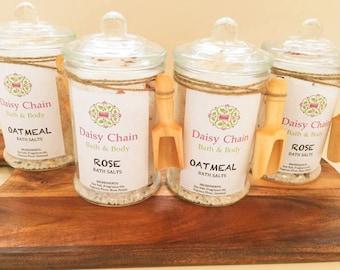 Bath Salts - Rose or Oatmeal