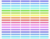 MAMBI Happy Planner 65 Printable Multicoloured Banners