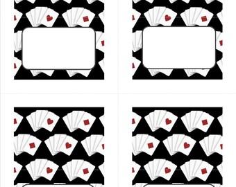 Casino Food Cards