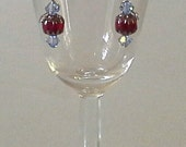 Red Cathedral Earrings