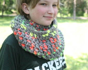 Neon Infinity Scarf