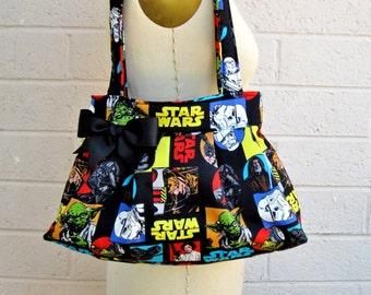 Star Wars Purse, Star Wars Diaper Bag, Star Wars Handbag, Star Wars Bag, Star Wars Tote