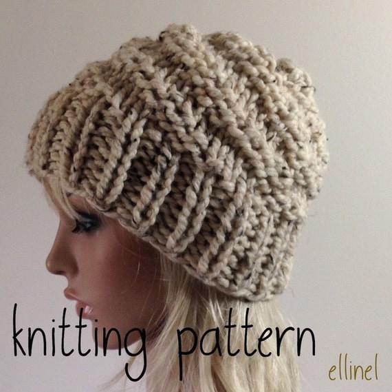Chunky Knit Hat Patterns Patterns Kid