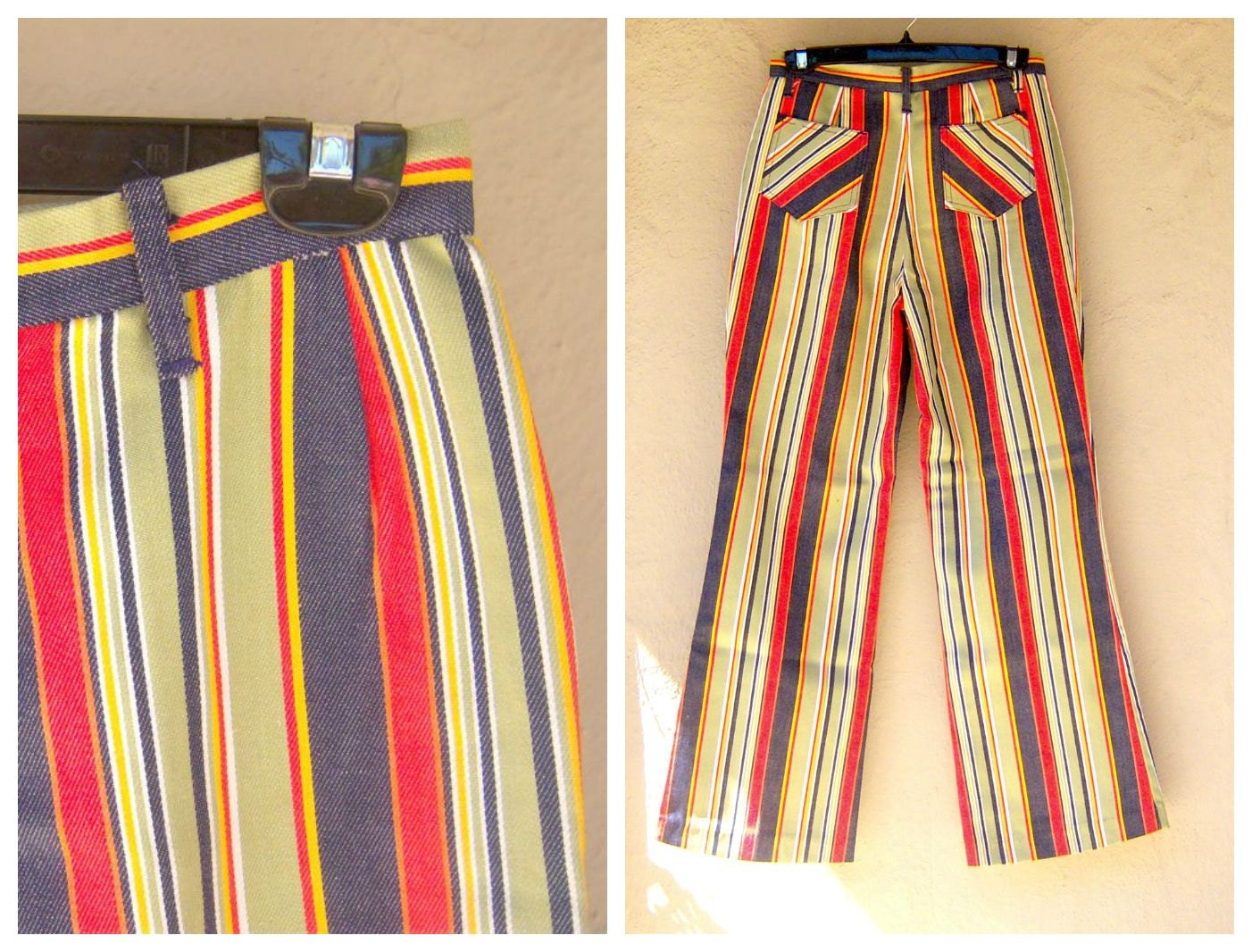 Nepalese Cotton Trousers Pants Striped Gringo Loose Light ... |Hippie Striped Pants