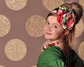 NEW Holly Holiday Headband M2M Corinna Coutures 2015 Holiday