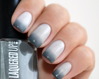 Hipster // Handmade Thermal Nail Polish// Cool Grey//Cruelty Free