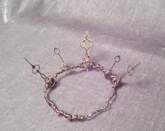 Gothic Clockhand Crown Tiara