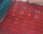 SALE! Vintage Moroccan Zemmour Tribal Rug