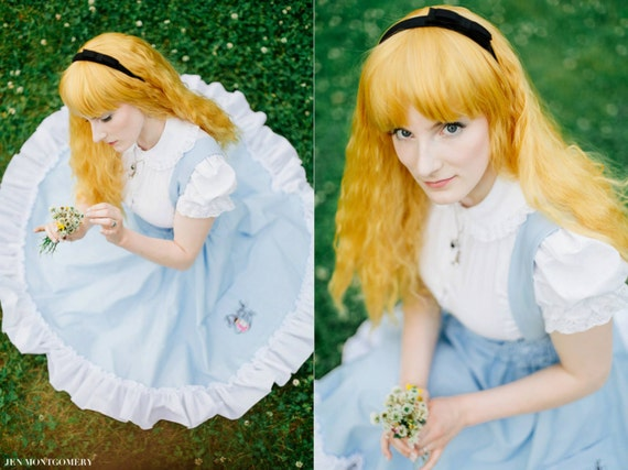 Lolita Victorian Blouse - White Kona Cotton - Steampunk Alice in Wonderland Peter Pan Collar-Custom to Your size