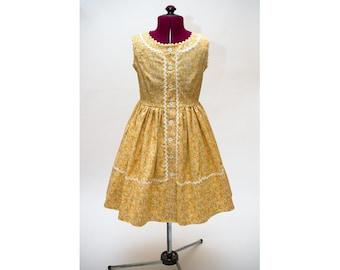 1950's Style Girls Dress Size 7/8