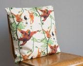 Swinging Orangutans Cushion / Pillow