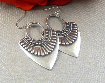 Gypsy Tribe,Earring,Silver earring,Tribal,Tribal Earring, Gypsy Earring,Boho Earring,Tribal Jewelry,Tribal Silver,Bohemian Earring