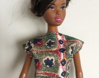 Handmade fits dolls like Barbie Designs by P D Reneau Mix n Match