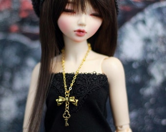 BJD Gold Tone Necklace, Minifee, Unoa Dolls