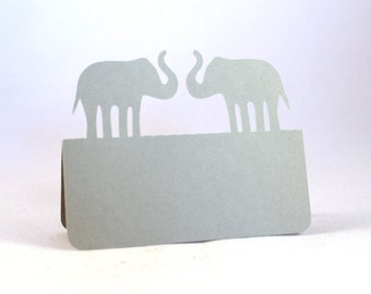 Elephants Place Cards Set of 100 Wedding