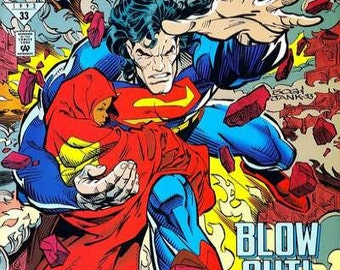Issue 27 SUPERMAN Man of Steel Comic Book