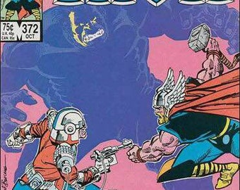 Issue #372 The Mighty THOR Comic Book in VF Condition