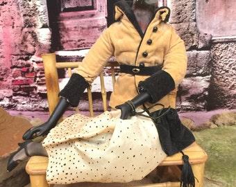Doll...Sitting Bird Doll