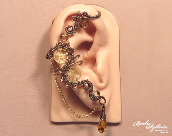 ear climber jewellery