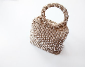 70s Crystal Beaded Handbag