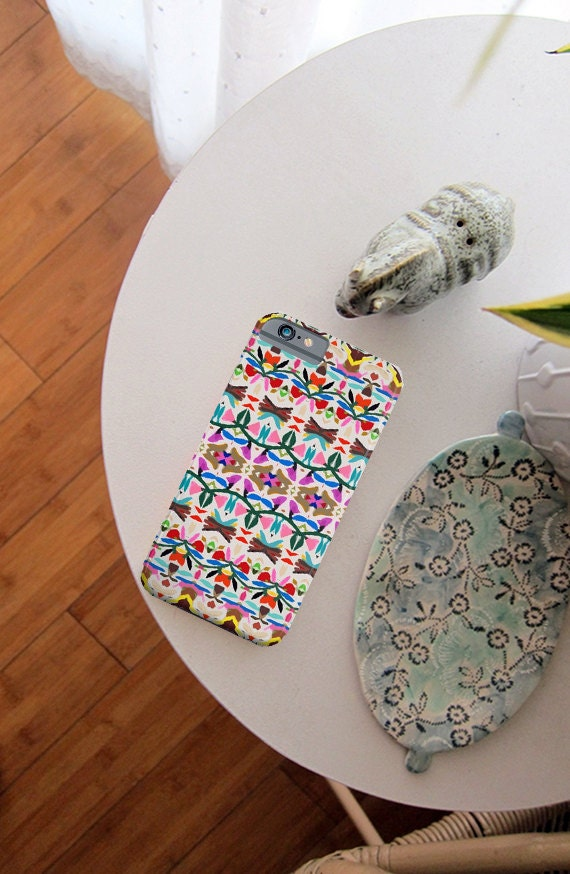 Spring Floral Love - iPhone Case + iPod Touch