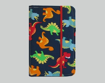 Kindle Cover Hardcover, Kindle Case, eReader, Kobo, Kindle Voyage, Kindle Fire HD 6 7, Kindle Paperwhite, Nook GlowLight Dinosaurs