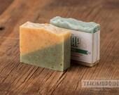 Sourpuss Soap | Lemongrass Soap | Calendula Soap | Vegan Soap | Essential Oil Soap | Handmade Soap | Homemade Soap | Cold Process Soap