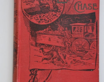 The Great Locomotive Chase Antique book from 1893 by William Pittenger