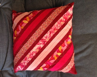 Pretty in Pink One-of-a-Kind Decorator Pillow