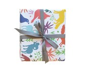 Otomi Multi Gift Wrap - 3 Single Sheets