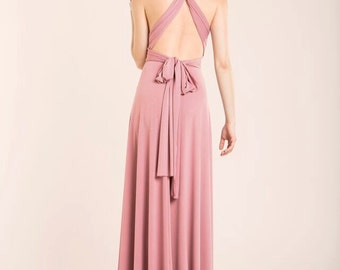 Bridesmaid dress, blush bridesmaid dress, powder pink maxi dress, blush pink bridesmaid dress, long bridesmaid dress, bridesmaids dresses