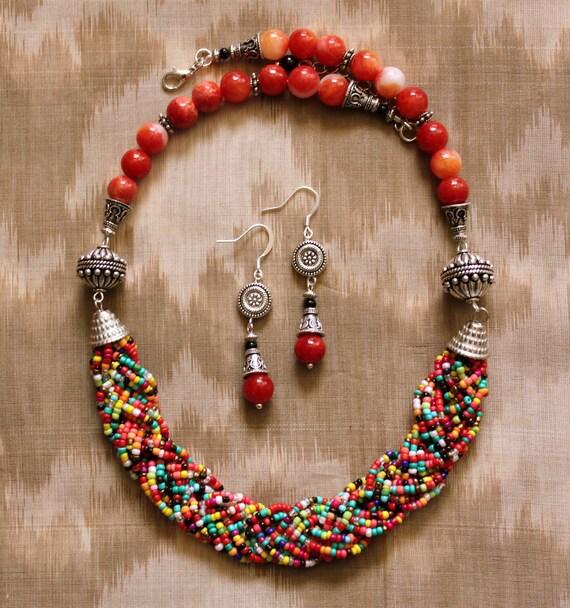 Custom Listing for Nirmalya - Multicolor Necklace