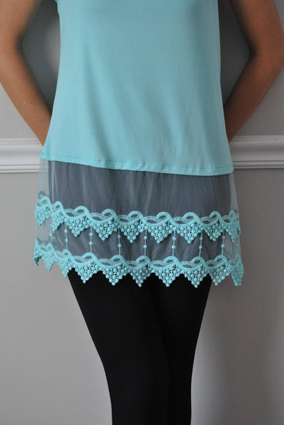Slip extender top slip extender shirt extenders lace by vezanie