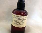 "Vanilla Body Oil with Shea-Compare to *Bath and Body Works ""Madagascar Vanilla""-Light and Natural"