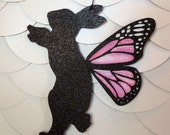 Bunny Rabbit Butterfly Fairy Nursery Mobile