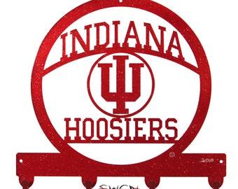 Indiana Hoosiers Metal Key Chain Holder Hanger