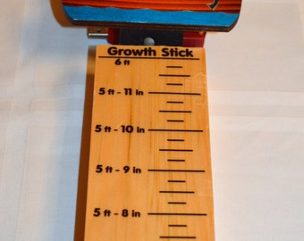 Childrens GIFT Noahs Ark Wood Growth Measure Stick Gift Made in USA  ships in 24 hours