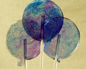 Midnight Moonlight Lollipops - all the flavors of autumn wrapped up in a darkly romantic lollipop