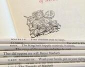 Macbeth Wrapped Pencil Set