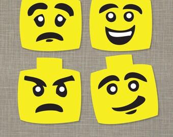 Printable Mood Masks (PDF)