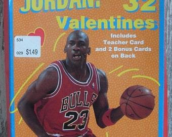 Vintage Michael Jordan Valentine cards