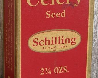 Box Schilling Celery Seed