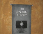 Hand Painted House Seaworth Canvas Banner - Game of Thrones - Davos Seaworth - The Onion Knight - Flag - Sign - Sigil