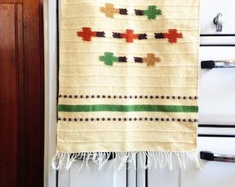 Vintage Swedish Woven Wall Hanging / Rug