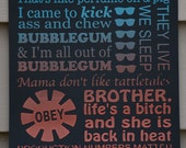 THEY LIVE - Quotes Poster - Subway Art