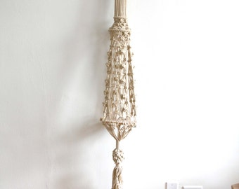 Large Macrame Basket Hanging