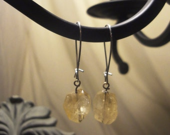 Citrine Drop Earring