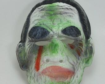 Vintage Monster Plastic Halloween Mask Ben Cooper 1973 Universal City Studios, Inc.
