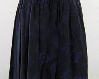 Original Vintage Purple And Black Two Tone Strapless Prom Dress UK Size 10