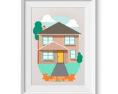 Custom House Portrait Per...